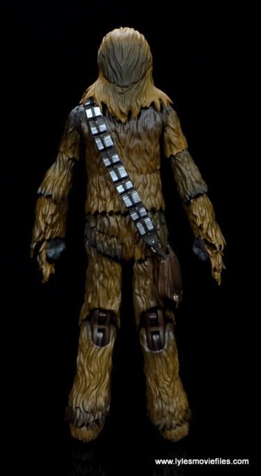 bandai sh figuarts chewbacca figure review - rear