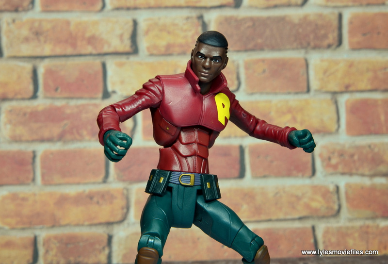 dc multiverse duke thomas figure review - crouching