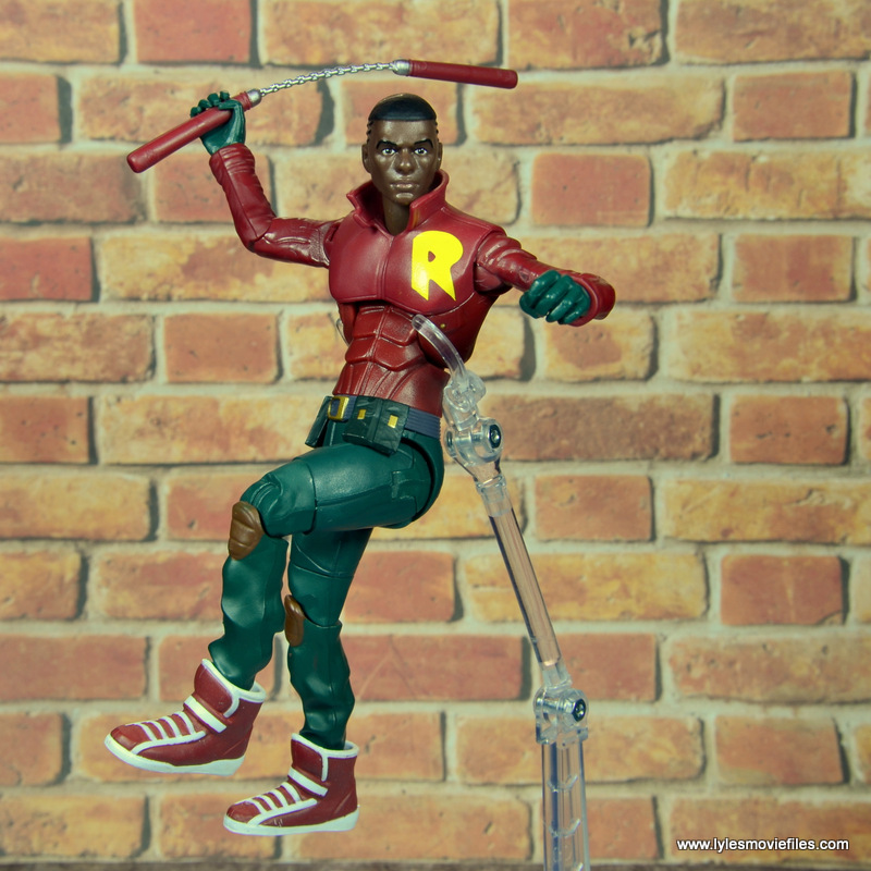 dc multiverse duke thomas figure review - leaping into battle