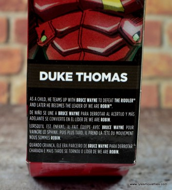 dc multiverse duke thomas figure review - package bio