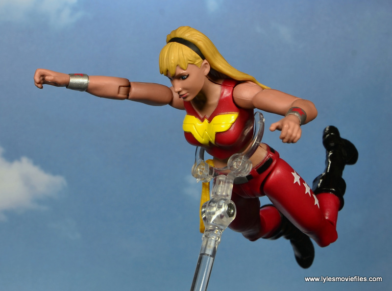 dc multiverse wonder girl figure review - flying ahead