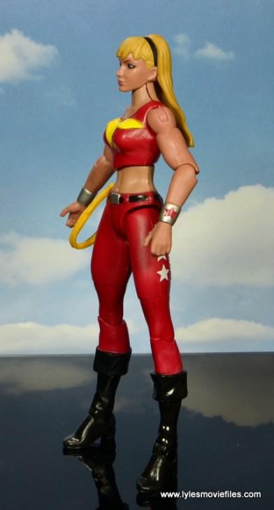 dc multiverse wonder girl figure review - left side
