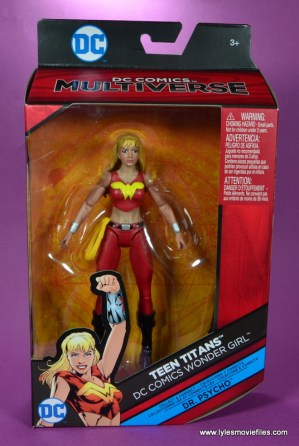 dc multiverse wonder girl figure review - package front