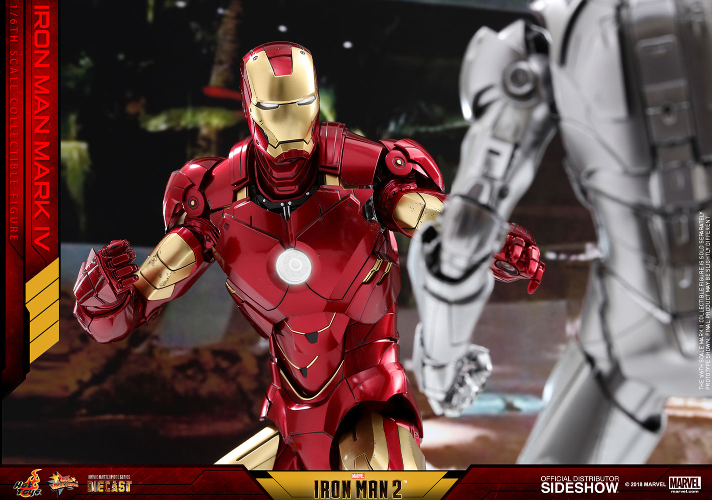 Hot Toys Debuts Diecast Series Iron Man Mark 4 Figure  Lyles Movie Files-3830