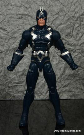 marvel legends black bolt figure review -front