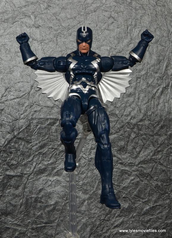 marvel legends black bolt figure review -landing