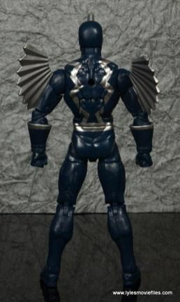 marvel legends black bolt figure review -rear