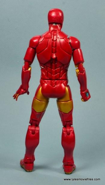 marvel legends invincible iron man figure review -rear