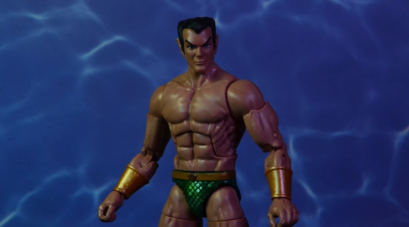 marvel legends sub-mariner figure review - main pic