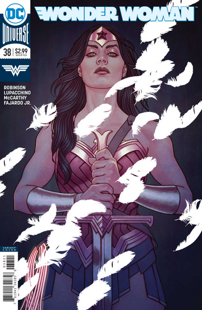 wonder woman #38 cover