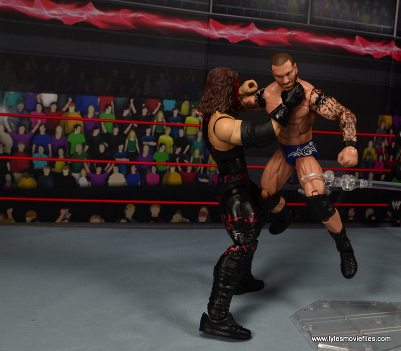 wwe elite 47b kane figure review -chokeslam to orton