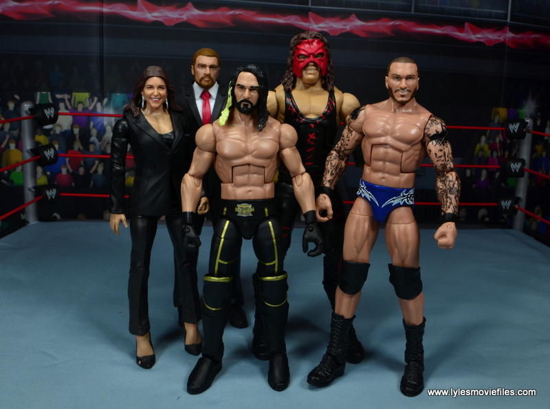 wwe elite 47b kane figure review - wwe the authority