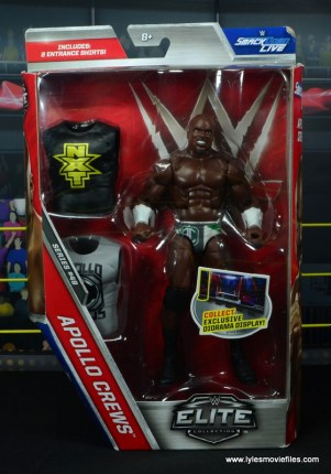 wwe elite 49 apollo crews figure review - package front