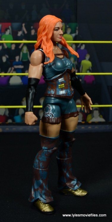 wwe elite 49 becky lynch figure review - right side