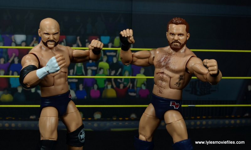 wwe elite the revival scott dawson and dash wilder figure review -close up