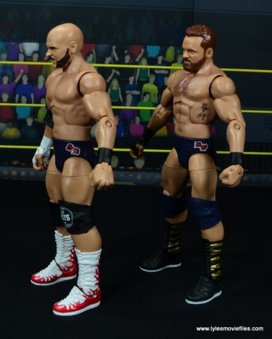 wwe elite the revival scott dawson and dash wilder figure review -left side