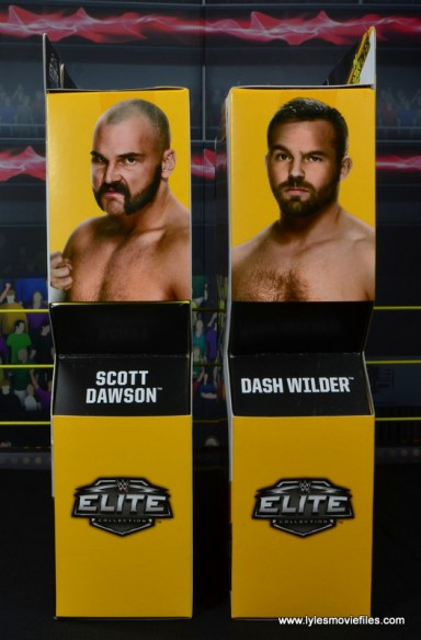 wwe elite the revival scott dawson and dash wilder figure review -package side