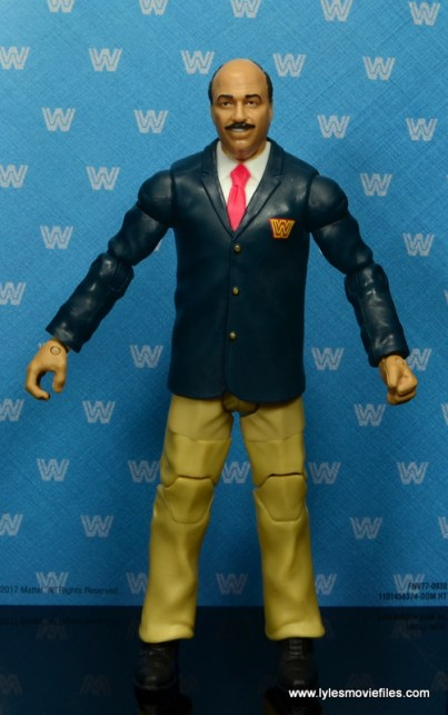 wwe flashback mean gene okerlund figure review - front