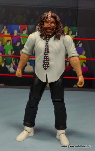 wwe summerslam elite mankind figure review - front