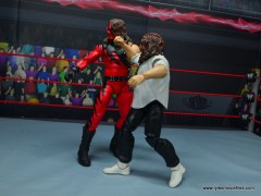 wwe summerslam elite mankind figure review - punching kane