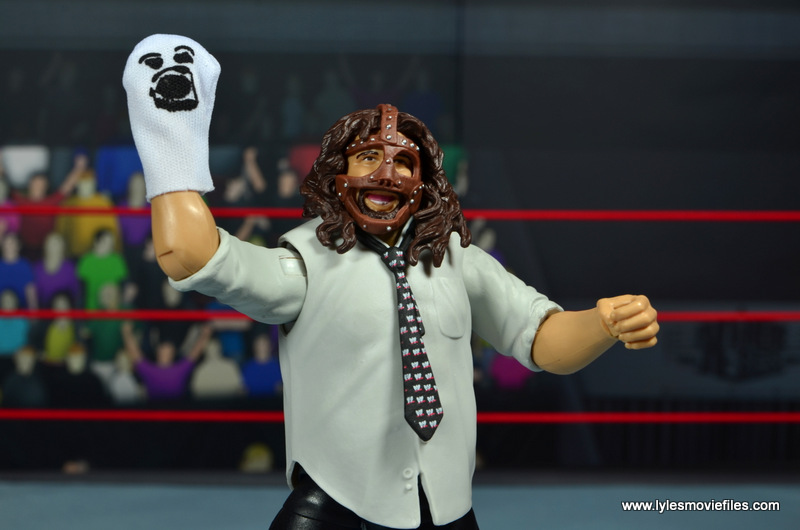 wwe summerslam elite mankind figure review - raising mr socko