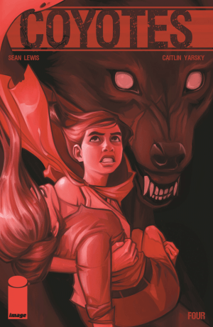 Coyotes issue 4 cover