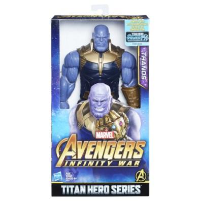 MARVEL AVENGERS INFINITY WAR TITAN HERO 12-INCH DELUXE Figures (Thanos) - in pkg