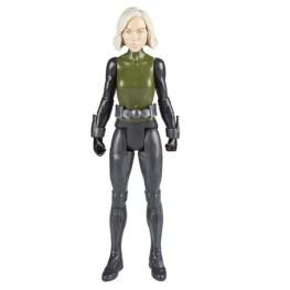 MARVEL AVENGERS INFINITY WAR TITAN HERO 12-INCH Figures (Black Widow) - oop