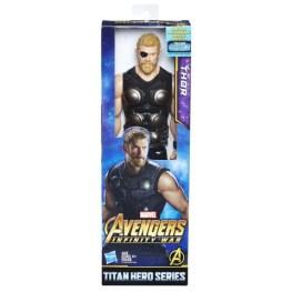MARVEL AVENGERS INFINITY WAR TITAN HERO 12-INCH Figures (Thor) - in pkg
