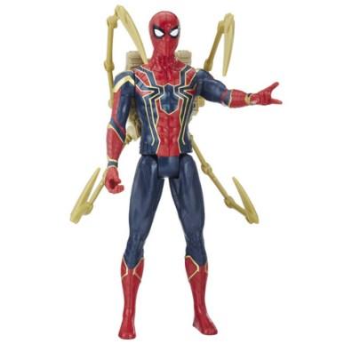 MARVEL AVENGERS INFINITY WAR TITAN HERO 12-INCH POWER FX Figures (Iron Spider) - oop