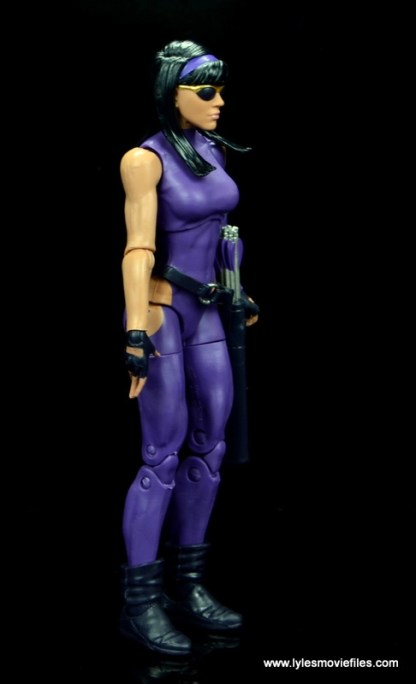 Marvel Legends Avengers Vision, Kate Bishop and Sam Wilson figure review - kate bishop right side