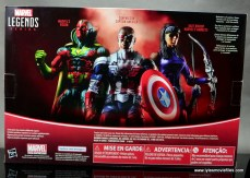 Marvel Legends Avengers Vision, Kate Bishop and Sam Wilson figure review - package rear