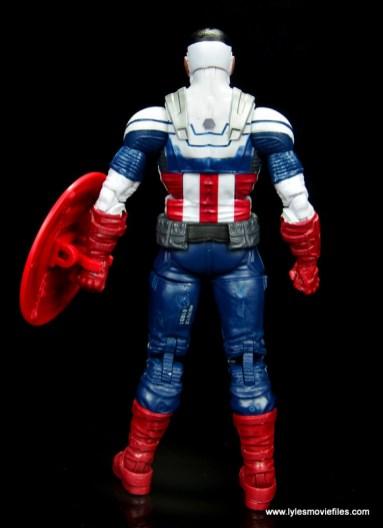 Marvel Legends Avengers Vision, Kate Bishop and Sam Wilson figure review - sam wilson rear