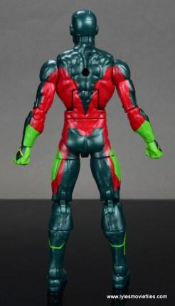 Marvel Legends Avengers Vision, Kate Bishop and Sam Wilson figure review - vision back no cape