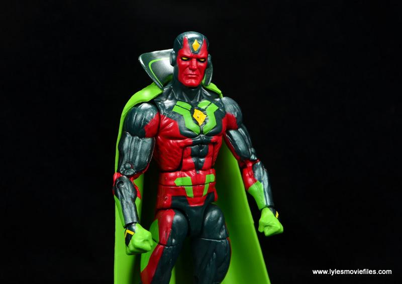 Marvel Legends Avengers Vision, Kate Bishop and Sam Wilson figure review - vision main
