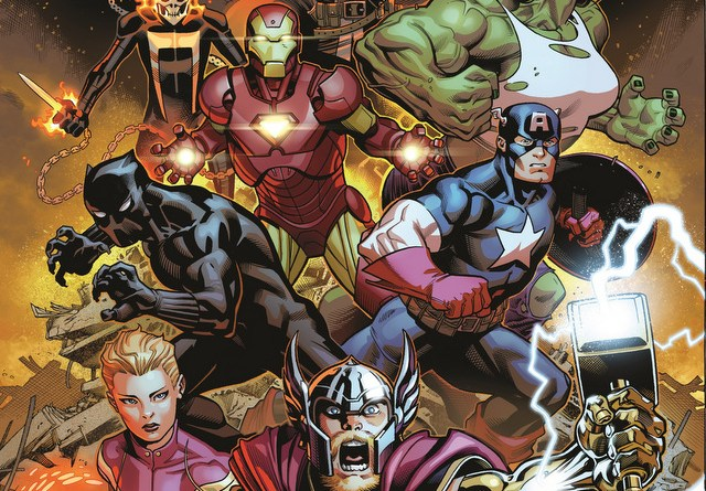 avengers 1 cover jason aaron ed mcguinness