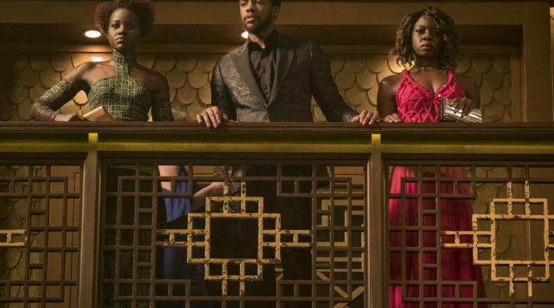 black panther movie review - nakia, t'challa and okoye episode 15