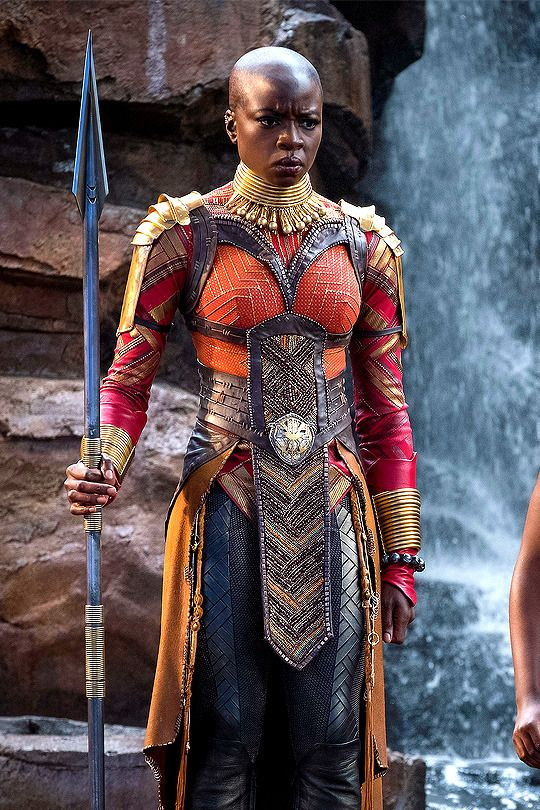 black panther okoye