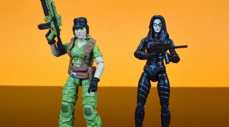 gi joe social clash lady jaye and baroness figure review set - main pic lady jaye and baroness