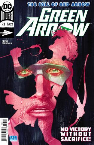 green arrow #37 cover