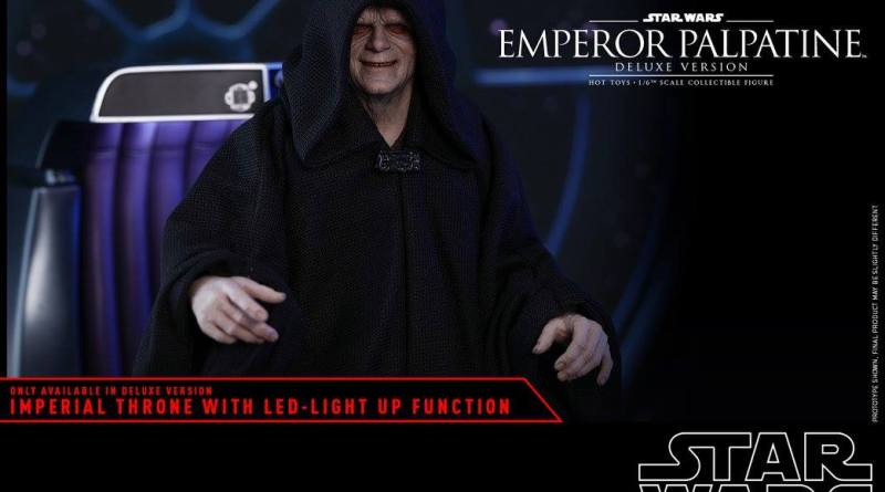 hot toys emperor palpatine figure -main pic