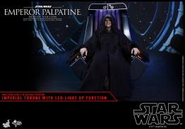 hot toys emperor palpatine figure -sitting alone