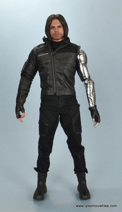 hot toys the winter soldier civil war figure review - front