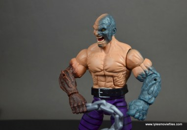marvel legends absorbing man figure review -detail of absorbing head
