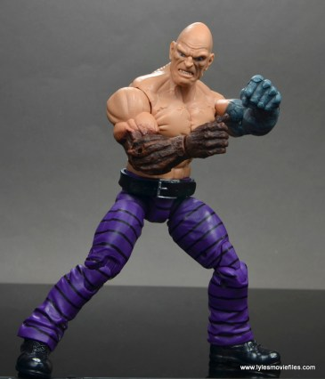 marvel legends absorbing man figure review -side shot
