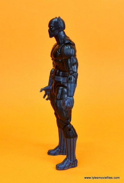 marvel legends black panther figure review - left side