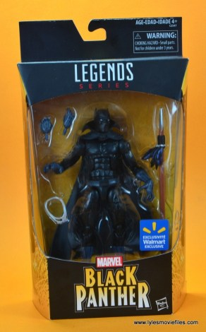 marvel legends black panther figure review - package front