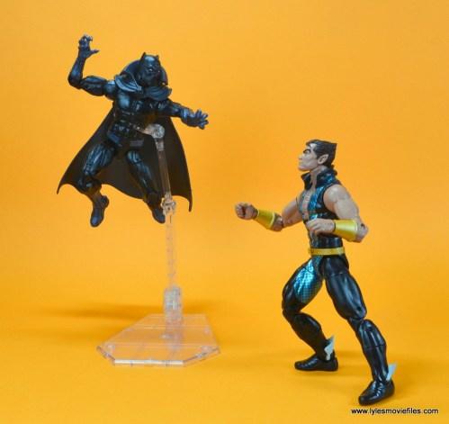 marvel legends black panther figure review - vs namor