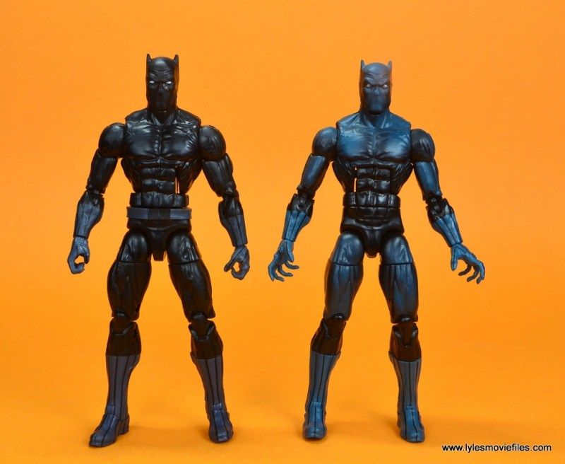 marvel legends black panther figure review - wal-mart exclusive black panther with first hasbro black panther figure