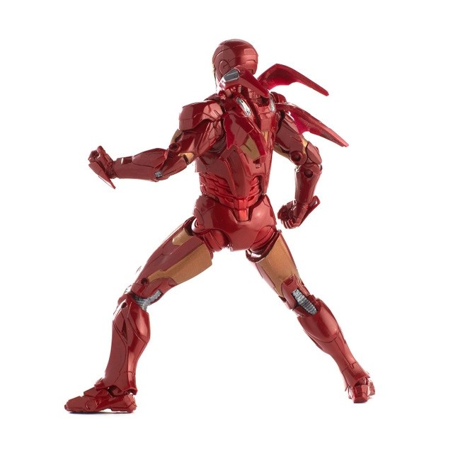 marvel legends marvel studios avengers iron man mark 7 rear